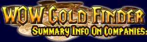 Listings of the best places to buy WOW gold